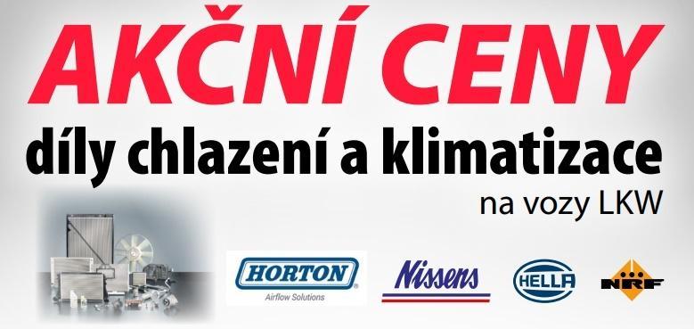 Akční ceny na díly chlazení a klimatizace u ELITu