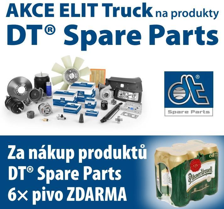 Akce na produkty DT® Spare Parts u ELITu