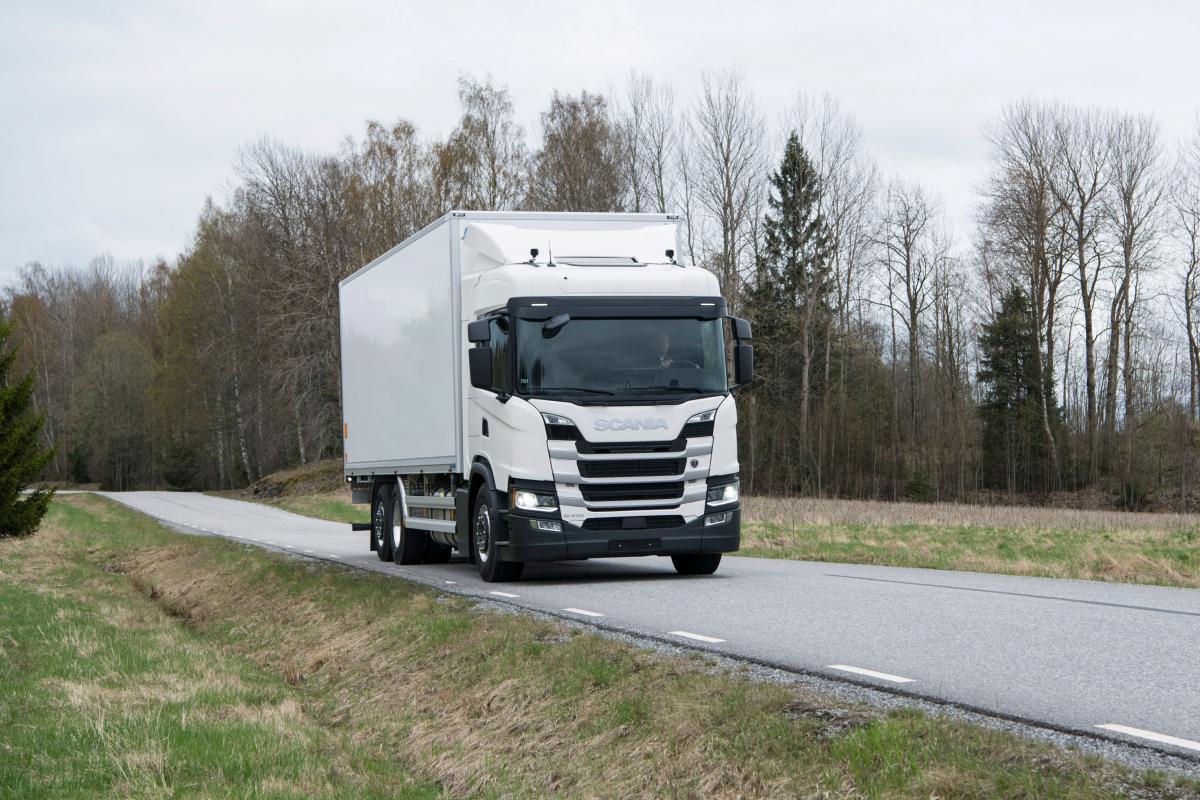 Nový 13 litrový motor Scania na Bioethanol