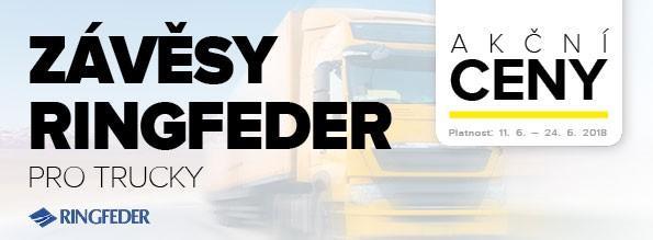 Závěsy Ringfeder pro trucky za akční ceny u Auto Kelly