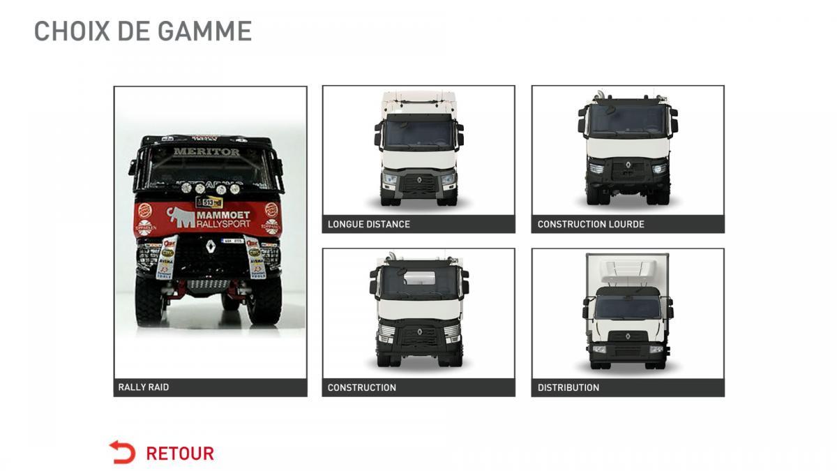 Nový hrací modul aplikace Renault Trucks Simulator