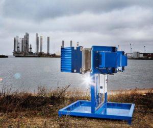 Společnost Nissens testuje výrobky v tvrdých podmínkách Severního moře