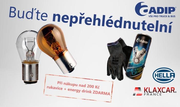 Při nákupu žárovek u ADIPu odměna pro každého