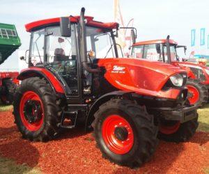 Traktory ZETOR byly k vidění na veletrhu Agriplanta 2018 v Rumunsku