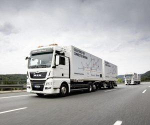DB Schenker vyslal první autonomní kamiony na dálnici