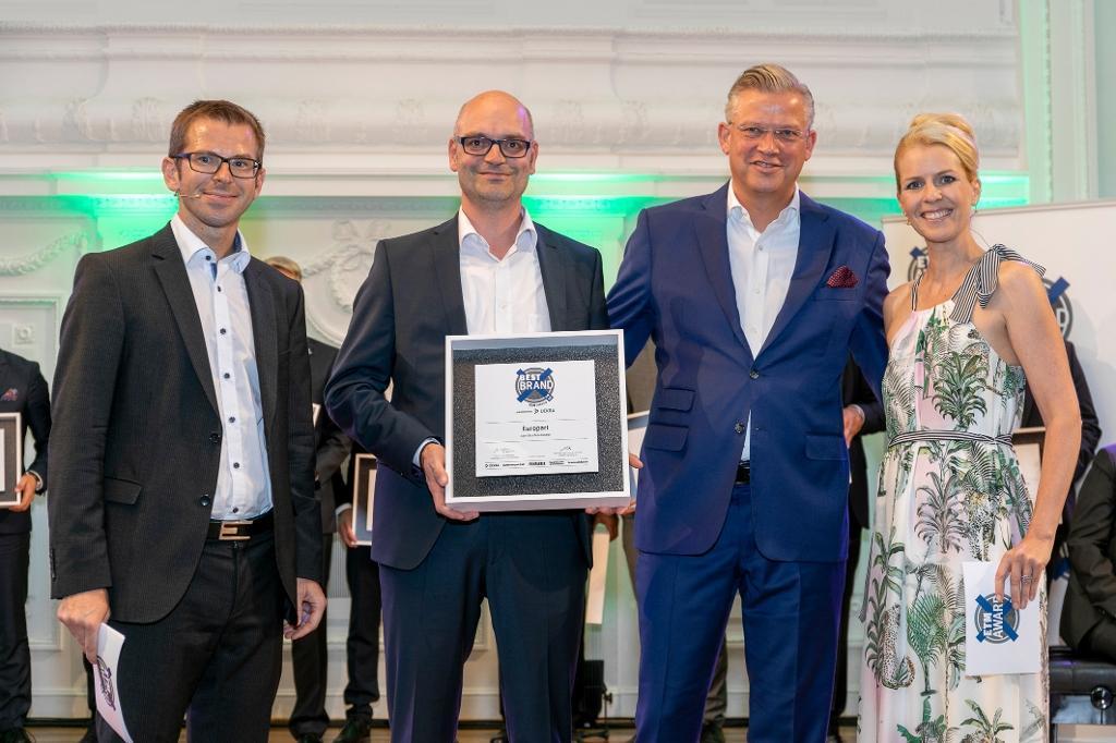 """EUROPART zvolen za """"Nejlepší značku"""" v kategorii Prodejce dílů pro nákladní vozidla a autobusy"""