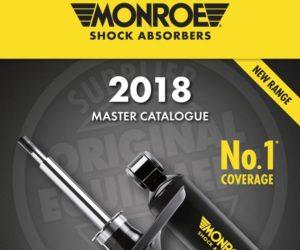 Nový katalog tlumičů Monroe® pro osobní a lehké užitkové vozy