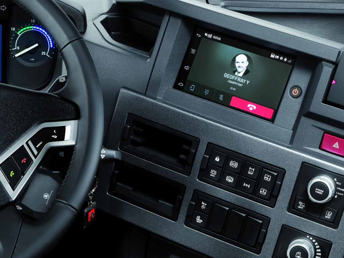 Audio a navigační systém Roadpad od Renault Trucks
