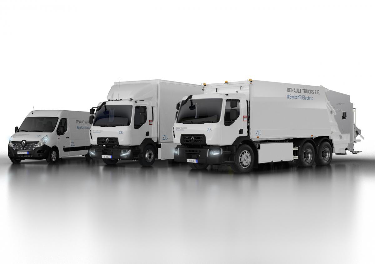 Druhá generace elektrických vozidel Renault Truck