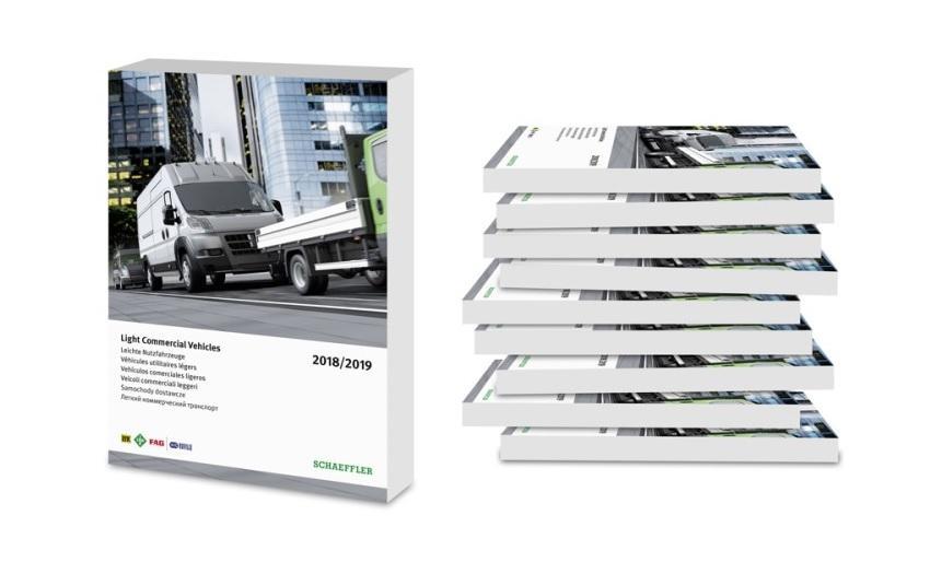 Nový katalog Schaeffler pro užitkové vozy