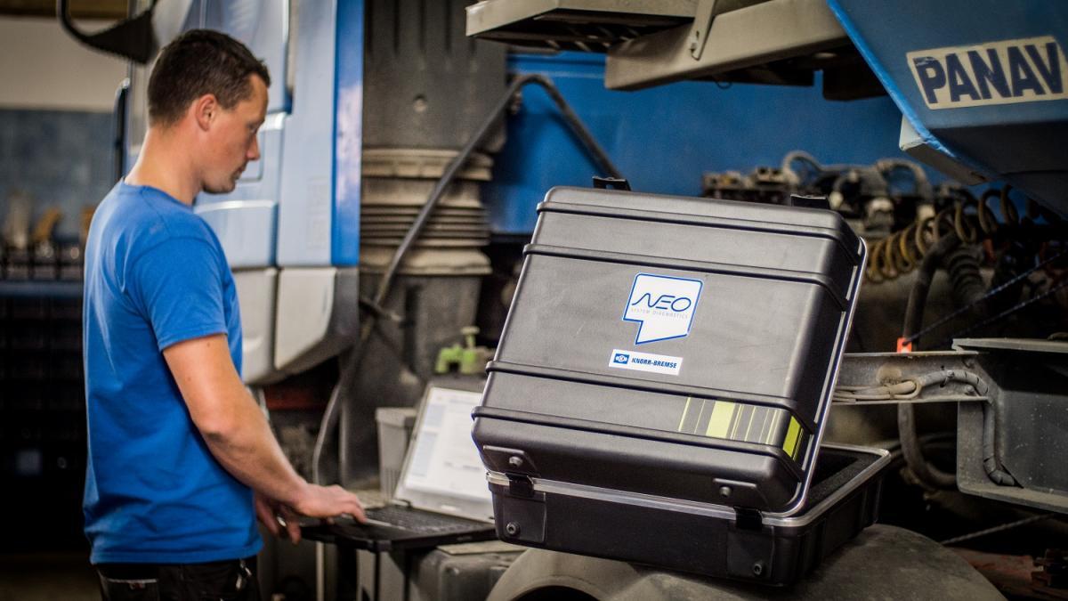 Síť autorizovaných servisů v programu Truckservices