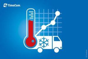 TimoCom: Zvýšená poptávka po chlazených přepravách