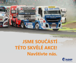 ADIP jako součást akce Czech Truck Prix 2018