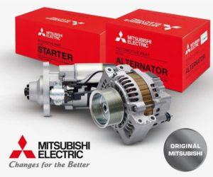 Alternátory a startéry Mitsubishi nově u firmy Allstar
