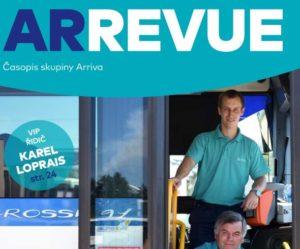 Skupina ARRIVA vydala časopis ArRevue 3/2018