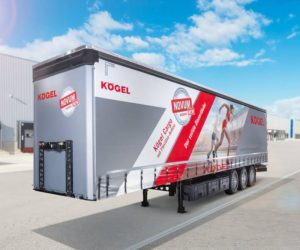 Kögel generace NOVUM zlatým hřebem na výstavě IAA 2018