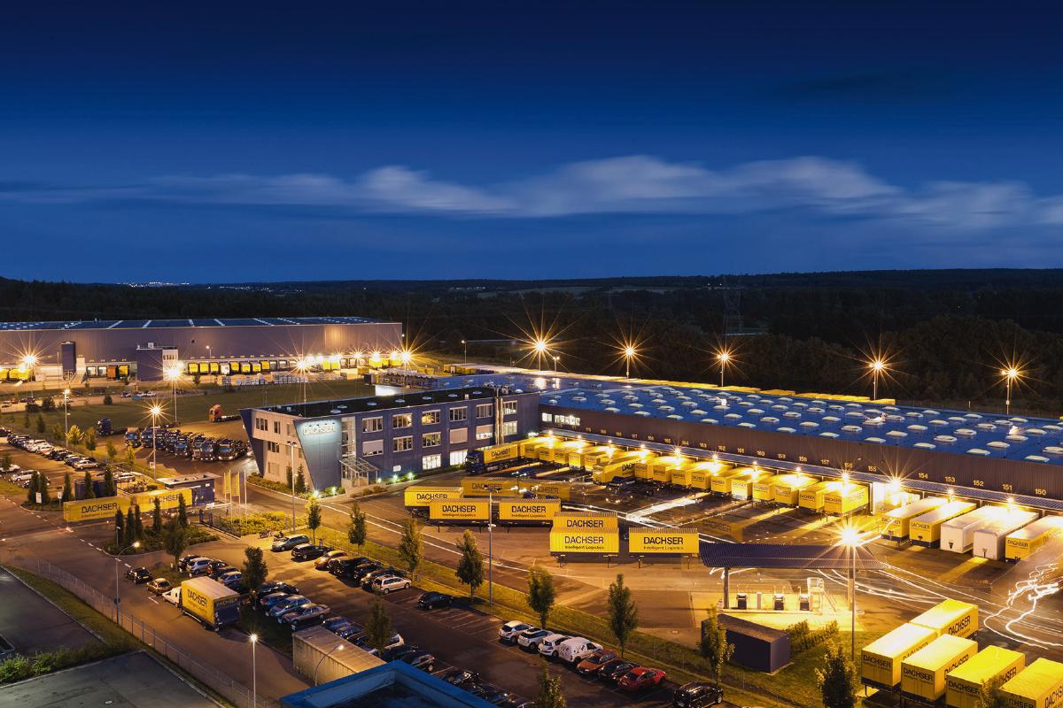 DACHSER investoval 15 milionů eur do rozšíření logistického centra v německém Überherrnu