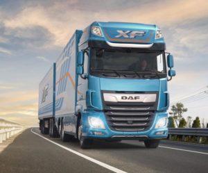 Nové vozidlo DAF řady XF obdrželo ocenění na Slovensku