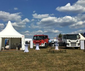 Nové posádkové kabiny Scania na výstavě PYROCAR
