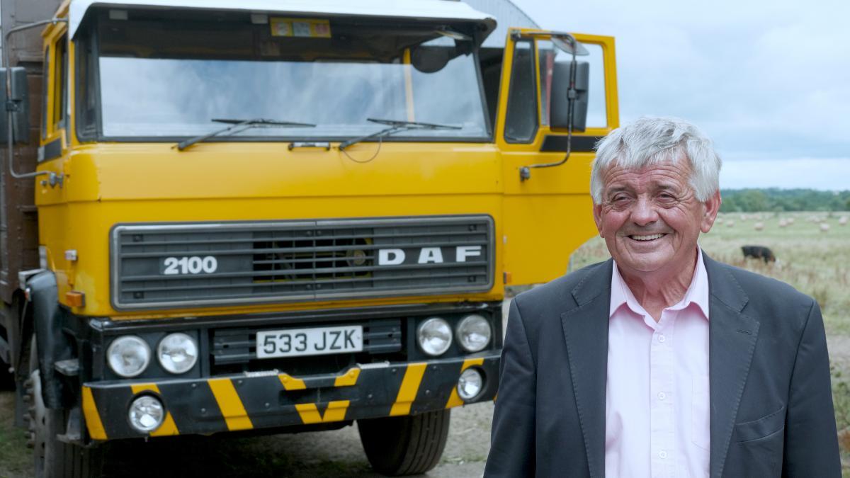 Nejstarší provozované nákladní vozidlo DAF