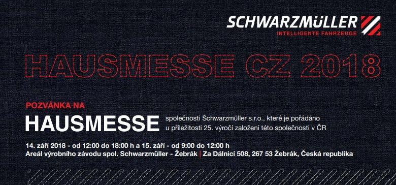 Schwarzmüller zve na Hausmesse CZ 2018