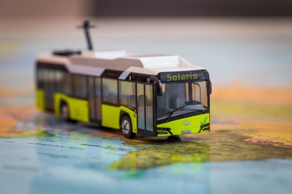 Solaris vyvinul systém pro dálkovou diagnostiku elektrických autobusů