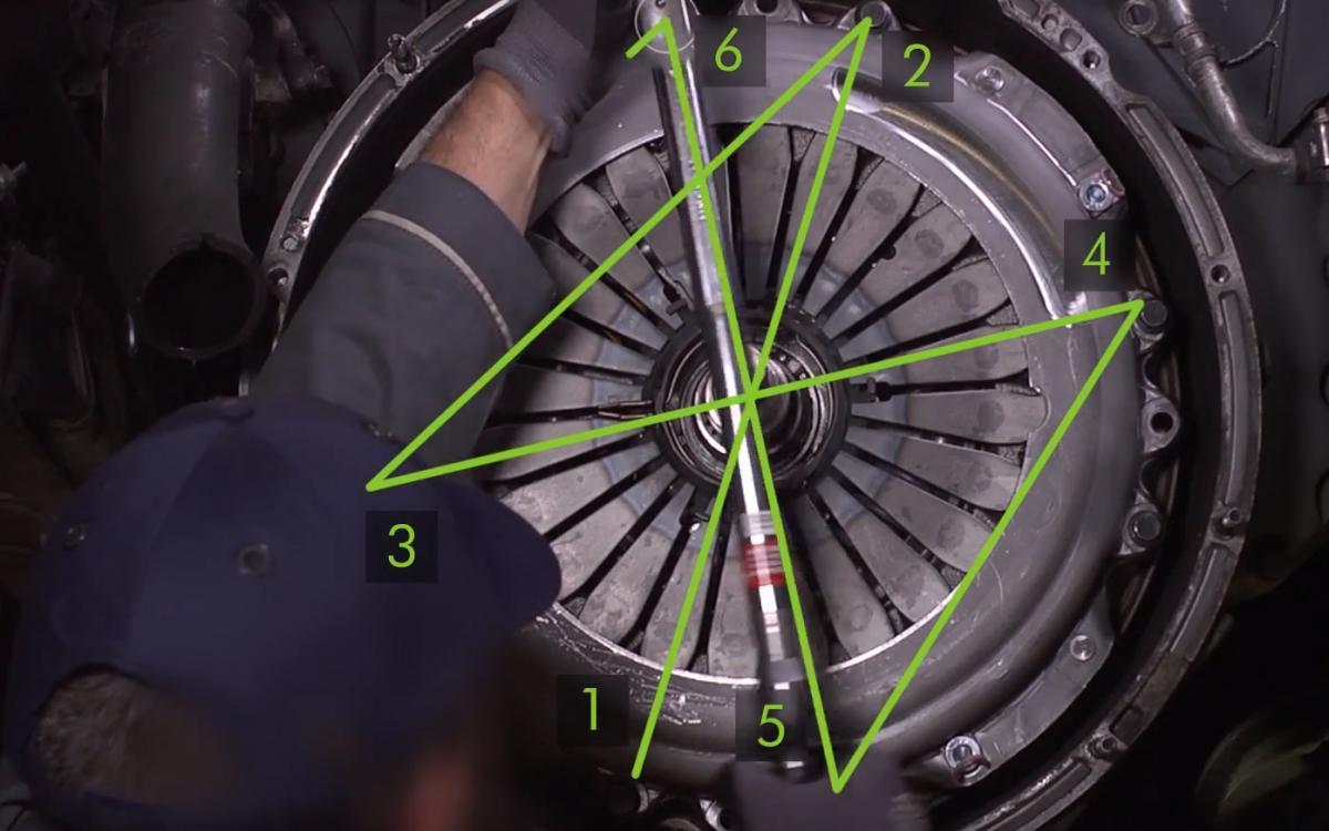 Opětovná montáž převodovky