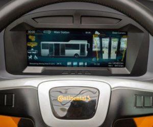 Společnost Continental přináší digitální éru i do autobusů