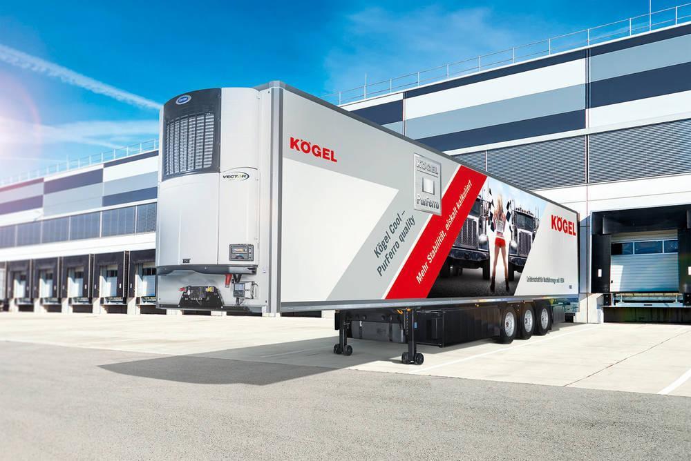 Chladírenský návěs nejvyšší třídy Kögel Cool – PurFerro quality