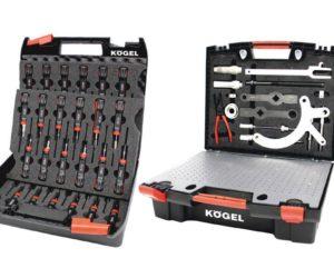 Dva nové kufříky na nářadí Kögel pro dílny