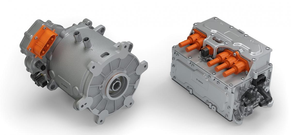 Bosch invertor a příslušnou řídicí jednotku vozidla