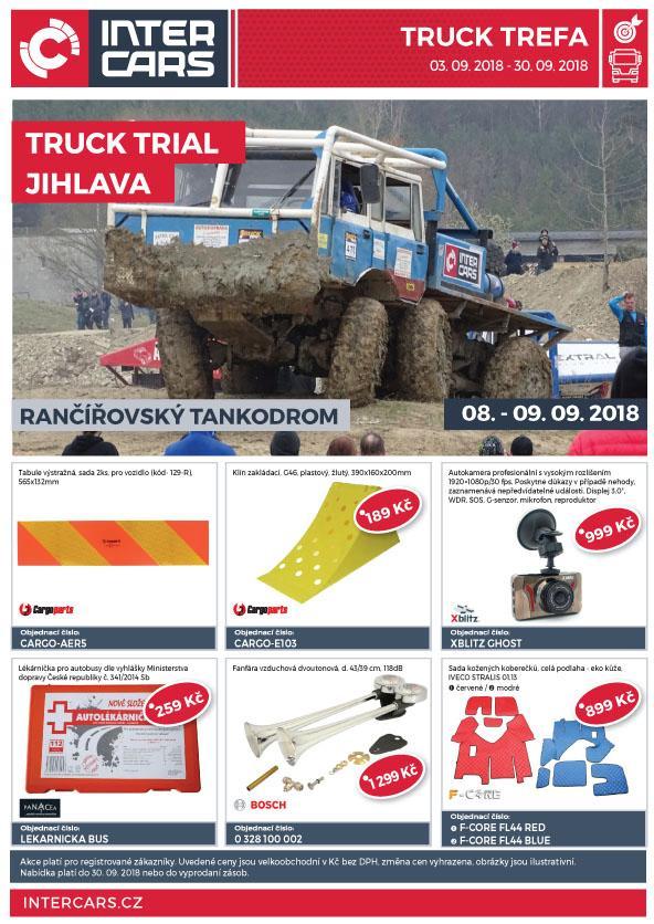 IC Truck Trefa: zářijová akční nabídka