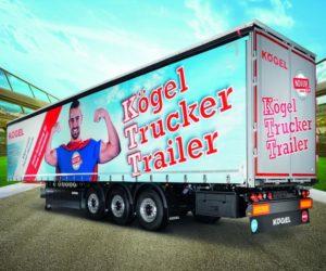 Kögel představí na výstavě IAA 2018 návěs Kögel Trucker Trailer