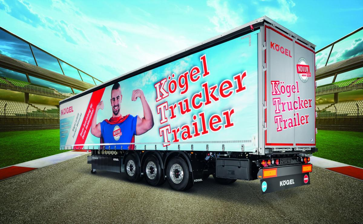 Návěs Kögel Trucker Trailer