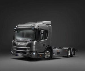 Všestranná hybridní nákladní vozidla Scania na veletrhu IAA 2018