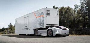Nový druh přepravy představuje Volvo Trucks