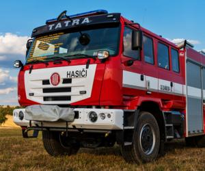 Nové hasičské speciály značky TATRA představeny na výstavě Pyrocar 2018