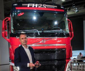 V Hannoveru bylo předáno milionté vozidlo – model Volvo FH