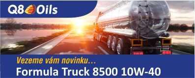 Novinka Q8Oils Formula Truck 8500 10W-40