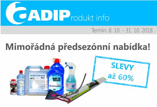 Akce na vybraný sortiment zimního vybavení u ADIPu