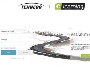 Tenneco eLearning: nová, vzdělávací webová platforma