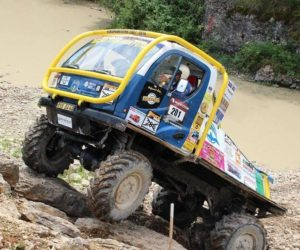 Hattrick na Mistrovství Evropy 2018 v Truck Trial s vozem AVIA