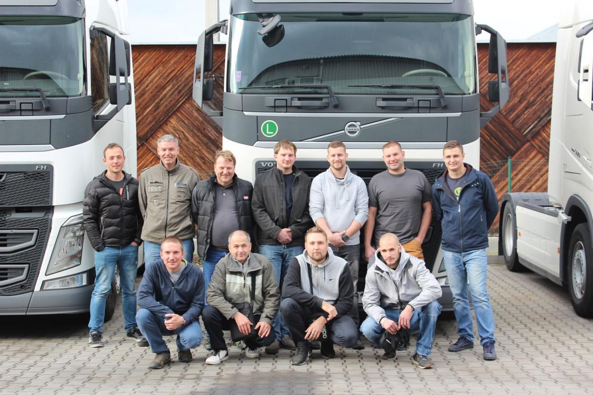Nejlepšího výsledku dosáhl Martin Žídek z Volvo Truck Centra Havířov