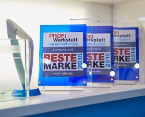 Společnost Knorr-Bremse sbírala ceny na veletrhu Automechanika 2018