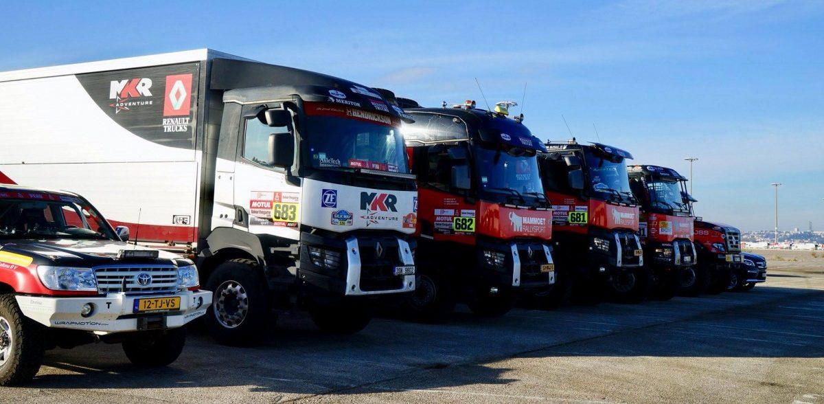 Vozy MKR Technology míří na Rallye Dakar