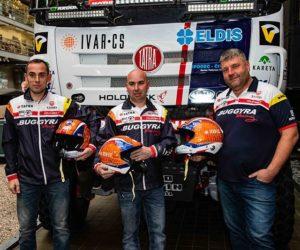 Tým Buggyra Racing a Tatra Trucks se připravují na Rallye Dakar