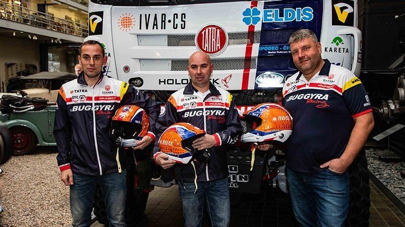 Buggyra Racing a Tatra Trucks se připravují na Rallye Dakar