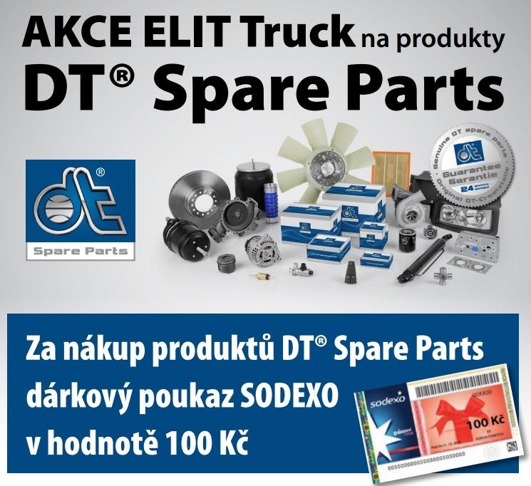 Akce Elit Truck na produkty DT Spare Parts