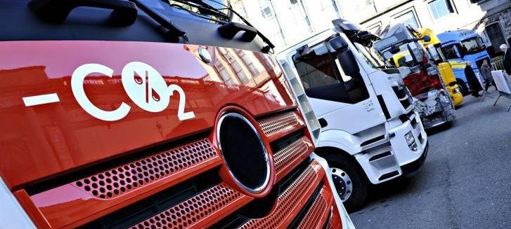 Hlasování o snižování emisí CO2 u nákladních automobilů