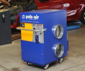 Mobilní topení Puls Air k dostání výhradně u společnosti IHR-TECHNIKA